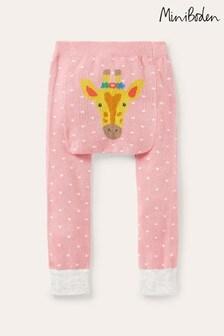 Boden Pink Knitted Leggings
