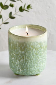 Guava and Lychee Ceramic Candle