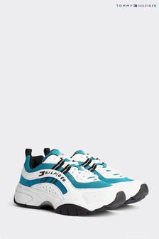 Tommy Hilfiger Blue Heritage Chunky Trainers