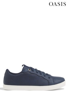 Oasis Blue Scallop Trainers