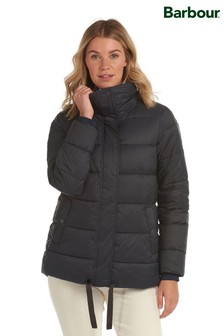 Barbour® Coastal Navy Relaxed Fit Padded Tropicbird Jacket