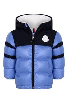 Baby Boys Pastel Blue Down Padded Elm Jacket