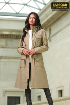 Barbour® International Waterproof Qualify Trench Coat