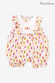 Kissy Kissy Pink Pineapple Playsuit