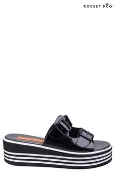 Rocket Dog Black Zanter Spree Platform Sandals