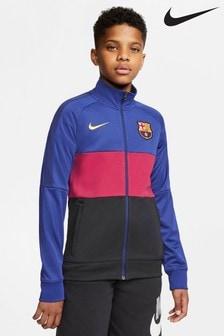 Nike Blue FC Barcelona Anthem Jacket