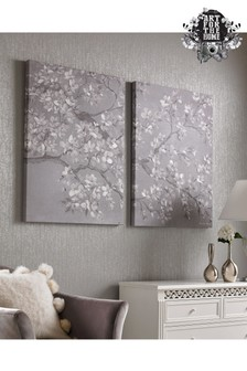 Set of 2 Tranquil Orchid Wall Art by Art For The Home