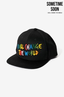 Sometime Soon Black Change The World Cap