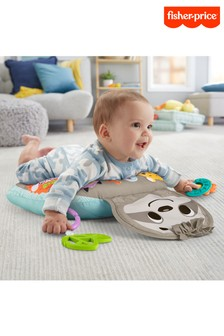 Fisher-Price Music Vibe Sloth Tummy Wedge Baby Toy
