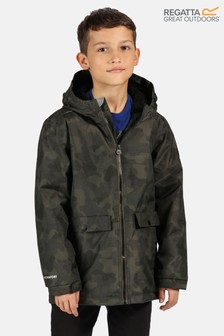 Regatta Green Sarkis Waterproof Jacket