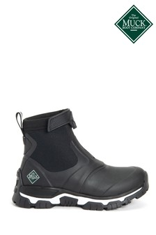 Muck Boots Black Women's Apex Mid Zip Boots