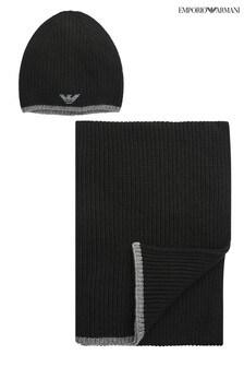 Emporio Armani Hat And Scarf Set