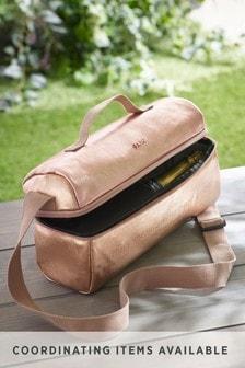 Rose Gold Insulated Bottle Bag