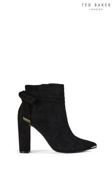 Ted Baker Black Cursten Heeled Boots