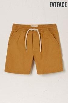 Fat Face Natural Studland Elasticated Shorts