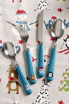 Festive 16 Piece Cutlery Set