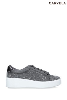 Carvela Pewter Jeorgia Trainers