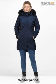 Regatta Blue Lexis Waterproof Jacket