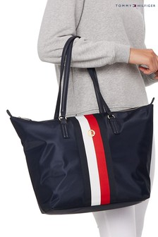 Tommy Hilfiger Blue Poppy Tote