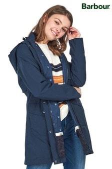 Barbour® Coastal Navy Waterproof Layson Jacket