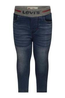 Levis Kidswear Baby Boys Blue Pull-On Skinny Jeans