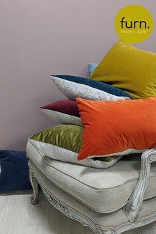 Contra Velvet Cushion by Furn