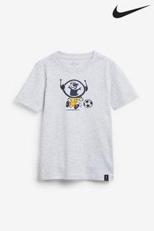 Nike Grey Tottenham Hotspur Ignite T-Shirt