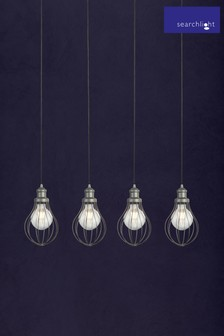 Cassia Cage 4 Light Pendant by Searchlight