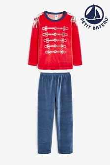 Red Petit Bateau Red Pyjamas