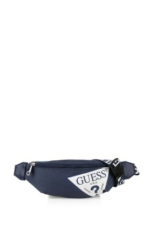 Kids Blue Logo Belt Bag