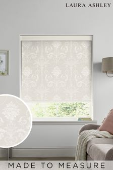 Laura Ashley Grey Josette Made To Measure Roller Blind