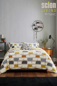 Scion Exclusive To Next Kivi Duvet Cover and Pillowcase Set