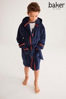 Baker by Ted Baker Navy Embossed Robe