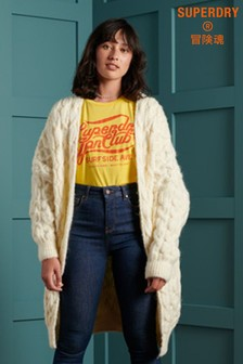 Superdry Grace Oversized Cable Cardigan
