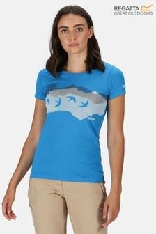 Regatta Womens Breezed Coolweave T-Shirt