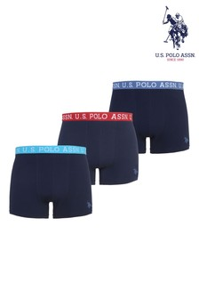 U.S. Polo Assn. Brand 3 Pack Boxers