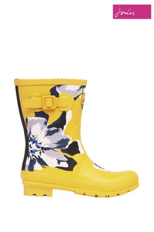 Joules Mid Height Printed Wellies