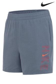 Nike Grey Logo Swim Shorts