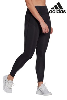 adidas 3 Stack Logo D2M High Waisted Leggings