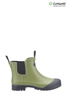 Cotswold Green Blenheim Wellington Boots