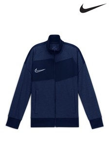 Nike Navy Knit Track Top