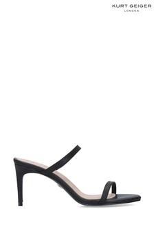 Kurt Geiger London Black Petra Sandals
