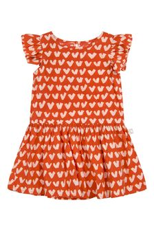 Stella McCartney Kids Baby Girls Red Cotton Dress