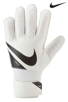 Nike White Kids Goalkeeper Gloves