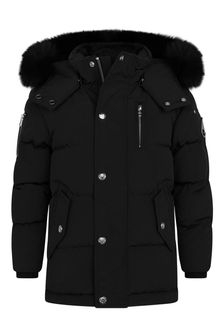 Kids Black Padded Jacket