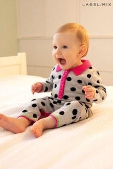 Mix/Madeleine Thompson Knitted Babygrow