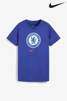 Nike Blue Chelsea Crest T-Shirt