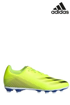 adidas Yellow Kids X P4 Firm Ground Football Boots