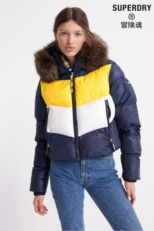 Superdry Sport Padded Retro Crop Jacket