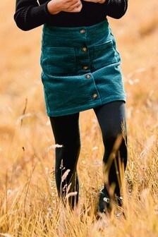 Teal Cord Skirt (3-16yrs)
